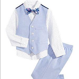 👔 Nautica Boys 4-piece Suit Set 👔